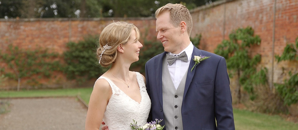 Holly & Paul: Sugnall Walled Gardens, Staffordshire wedding video