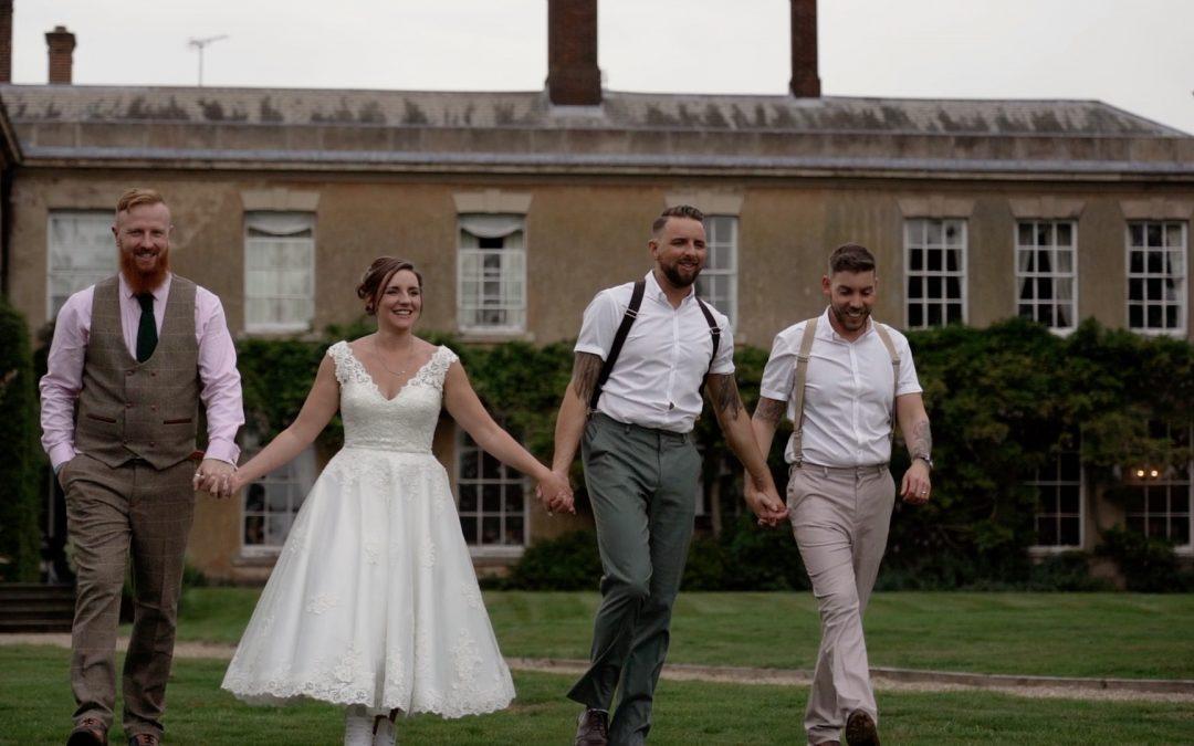 Ashbourne Double: Yeldersley Hall Wedding