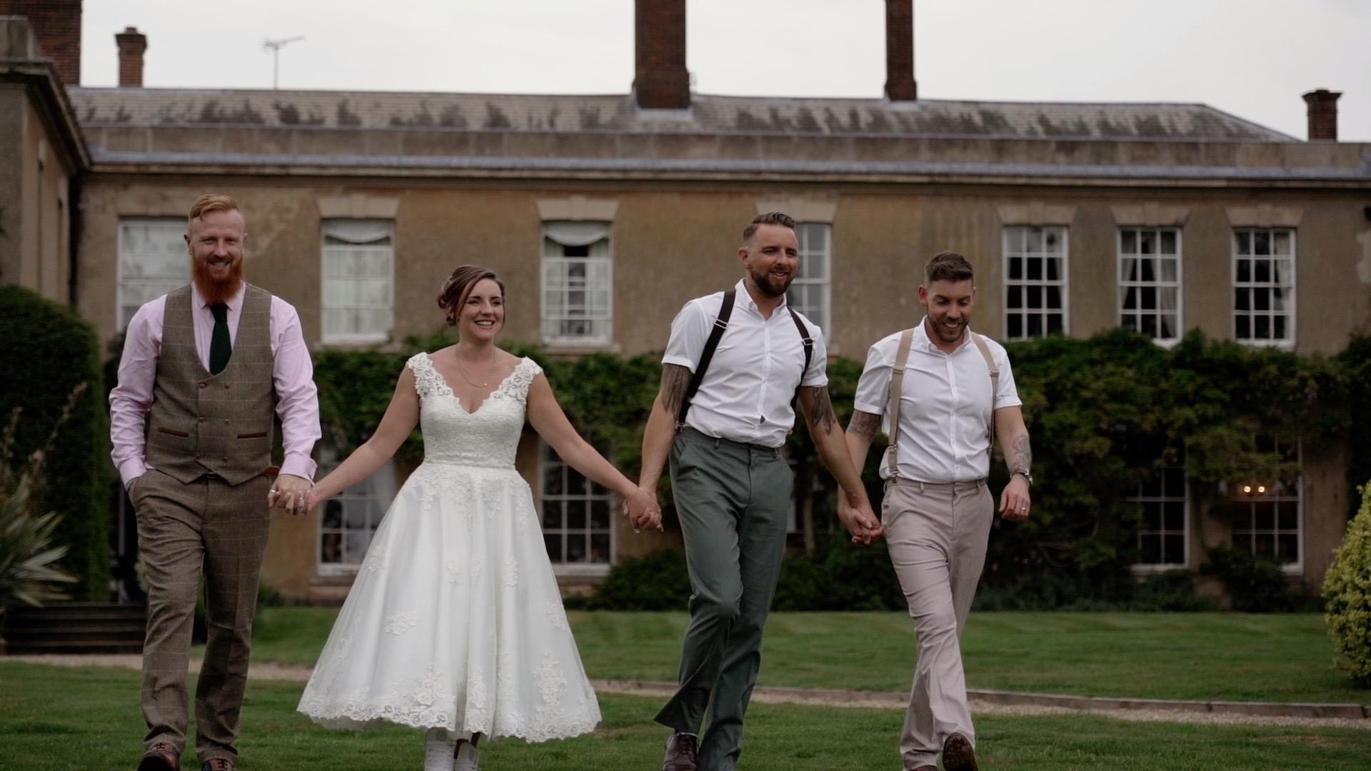 Yeldersley Hall wedding