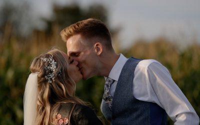 Becca & Rob: Alcumlow Wedding Barn